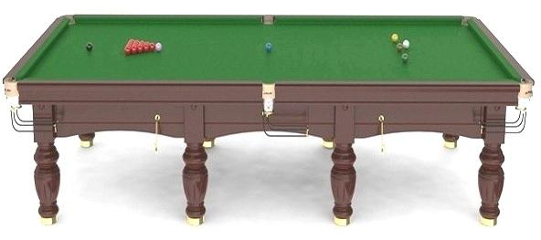 Masa de snooker profesionala Riley Aristocrat Standard Cushion Table 10'