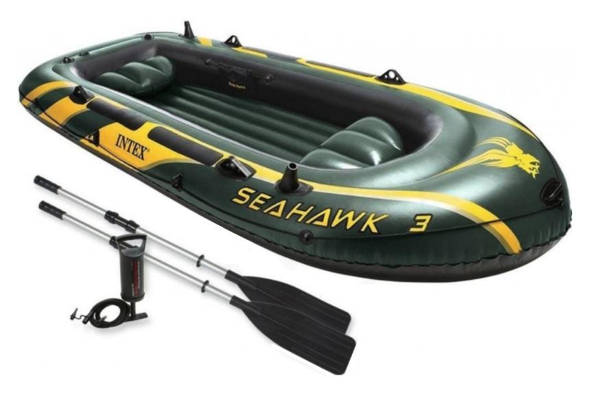 Barca goflabila Intex Seahawk 3