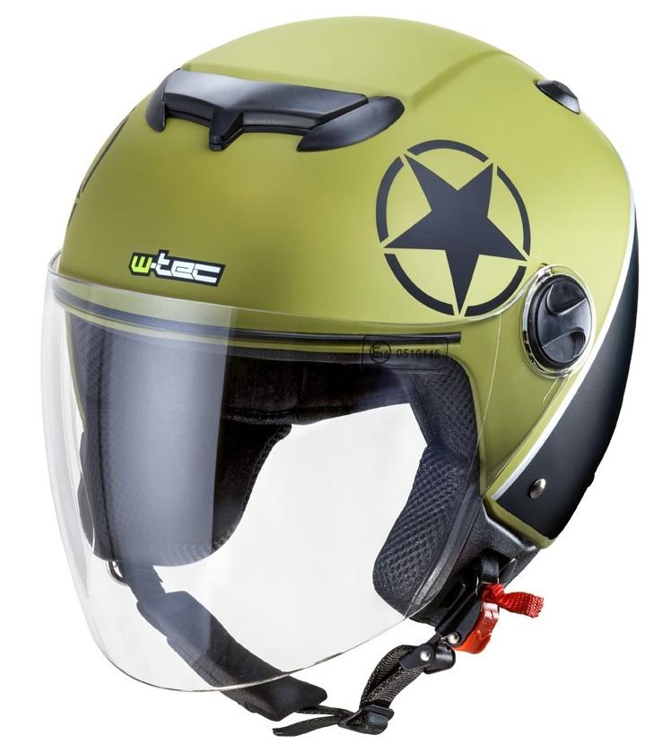 Casca moto open face W-Tec YM-617