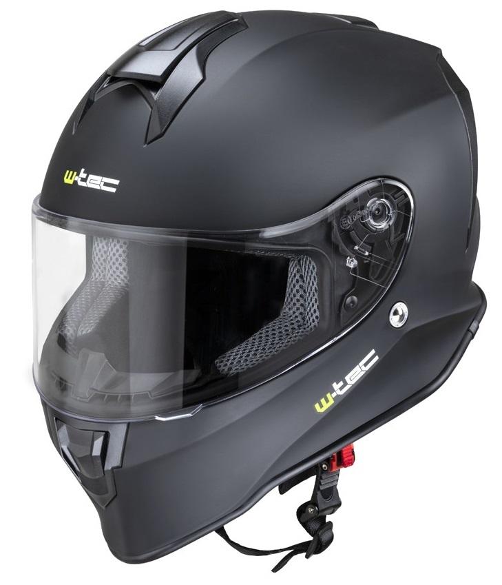 Casca moto W-Tec integra Solid