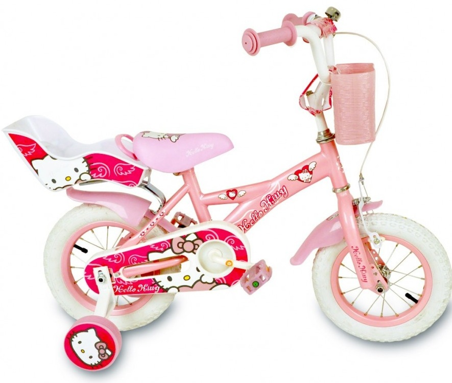 Bicicleta copii Hello Kitty Sweet 14