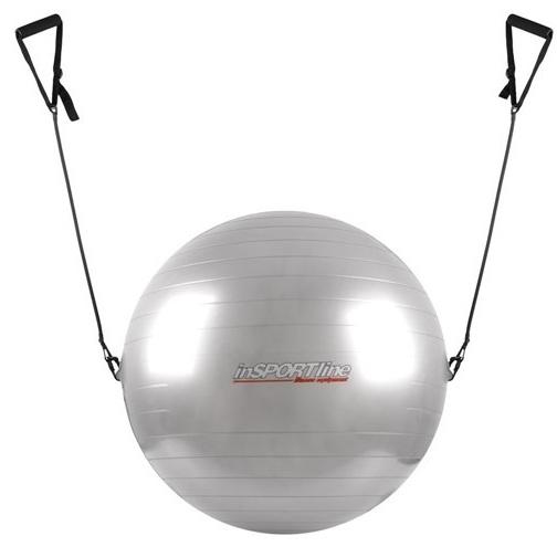 Minge aerobic cu maner inSPORTline 65cm