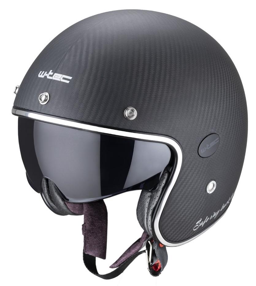 Casca moto W-Tec Vacabro SWBH Carbon