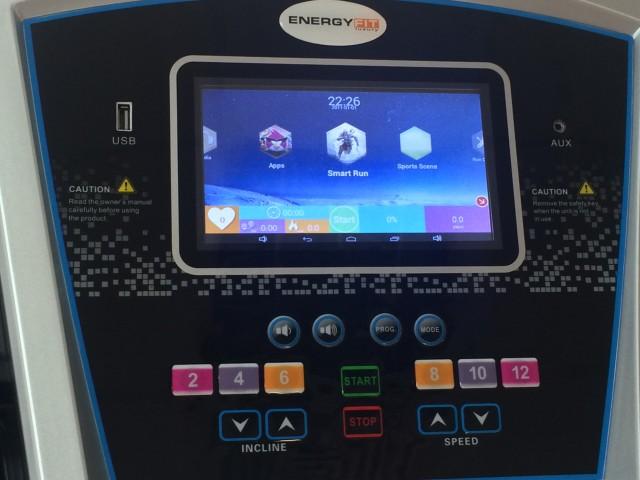 Banda de alergare electrica Energy Fit 968TFT