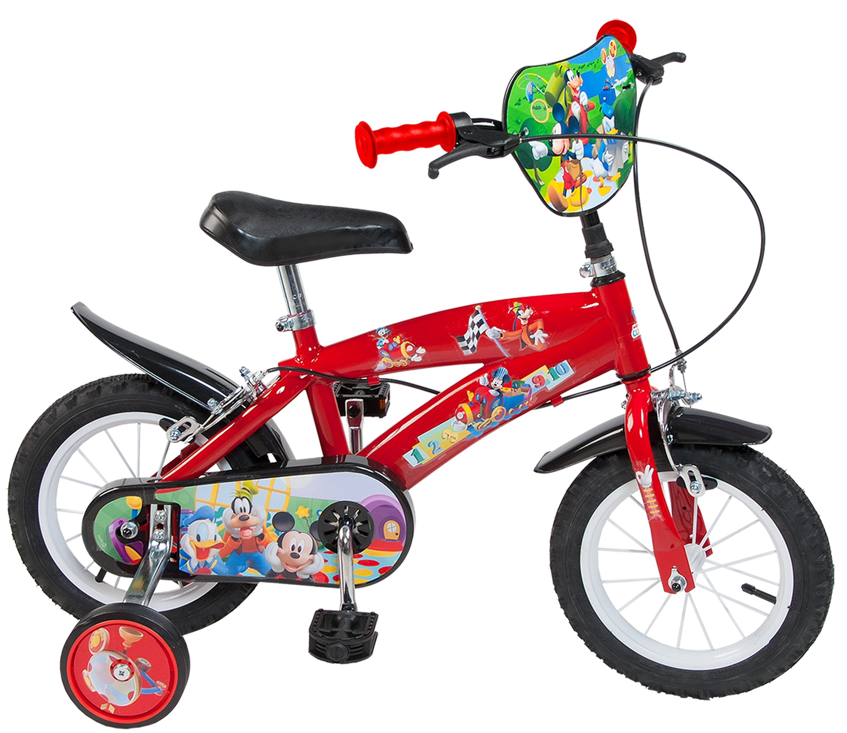 Bicicleta copii Toimsa Mickey Mouse Club House 12