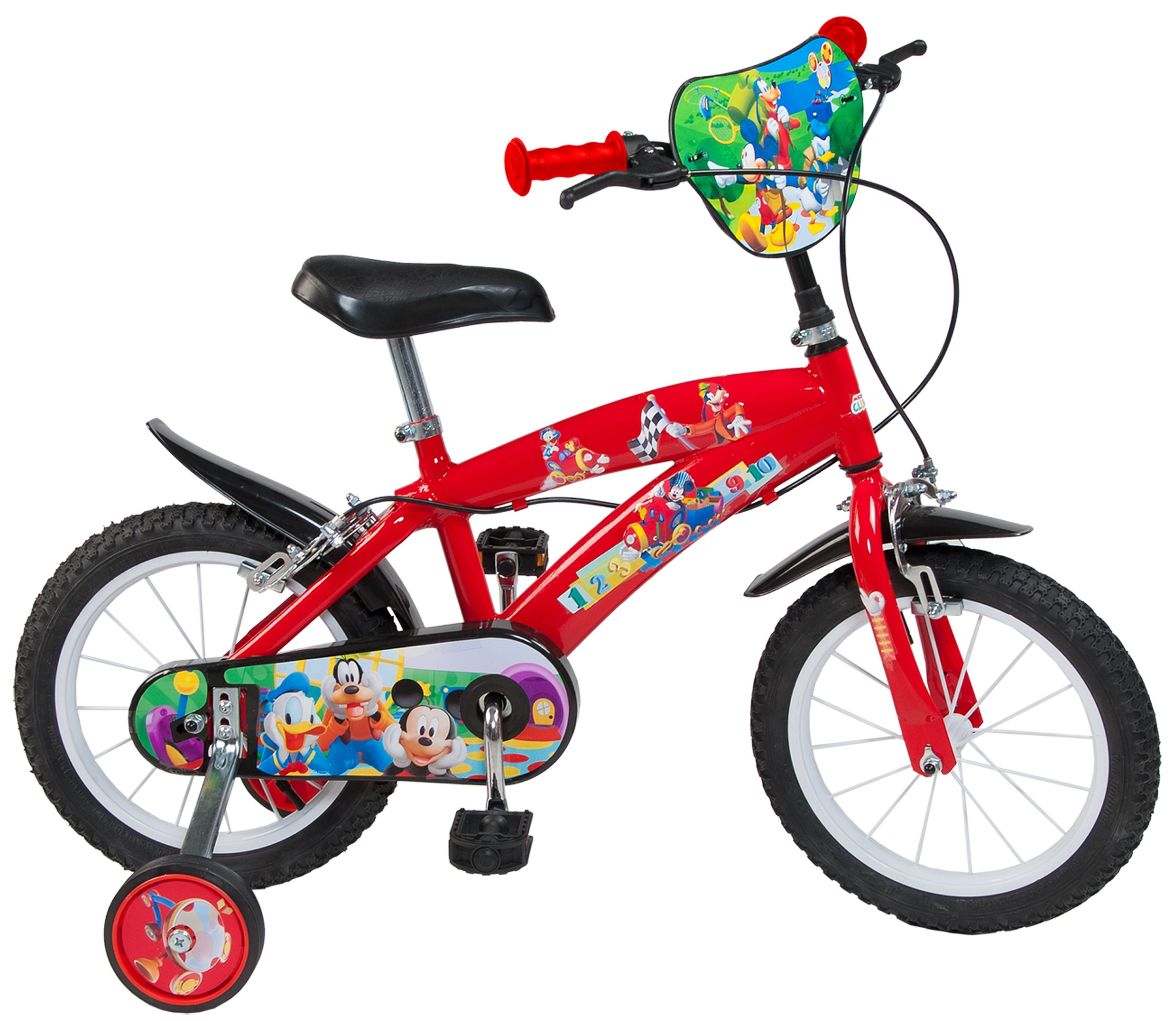 Bicicleta copii Toimsa Mickey Mouse Club House 14