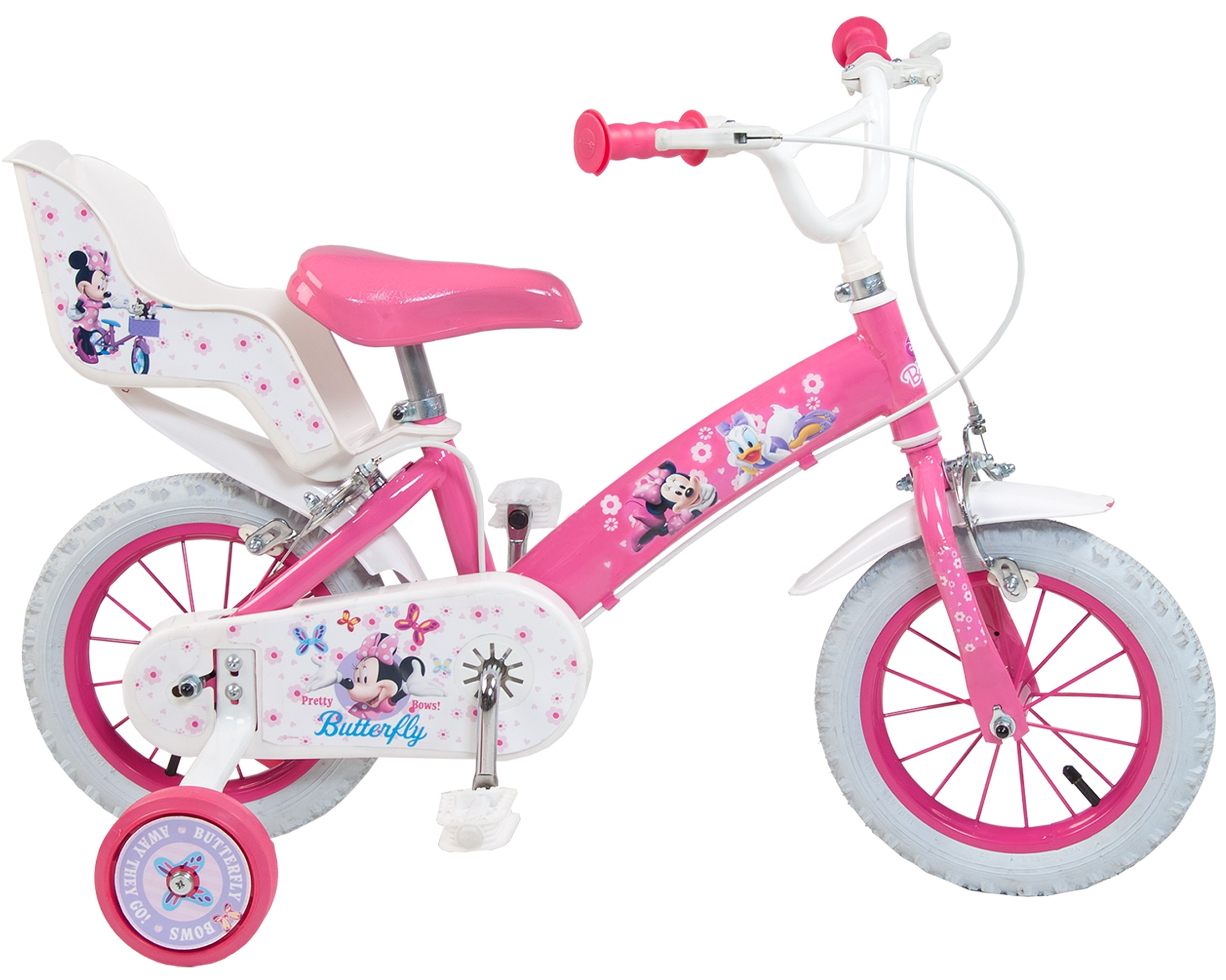 Bicicleta copii Toimsa Minnie Mouse Club House 12