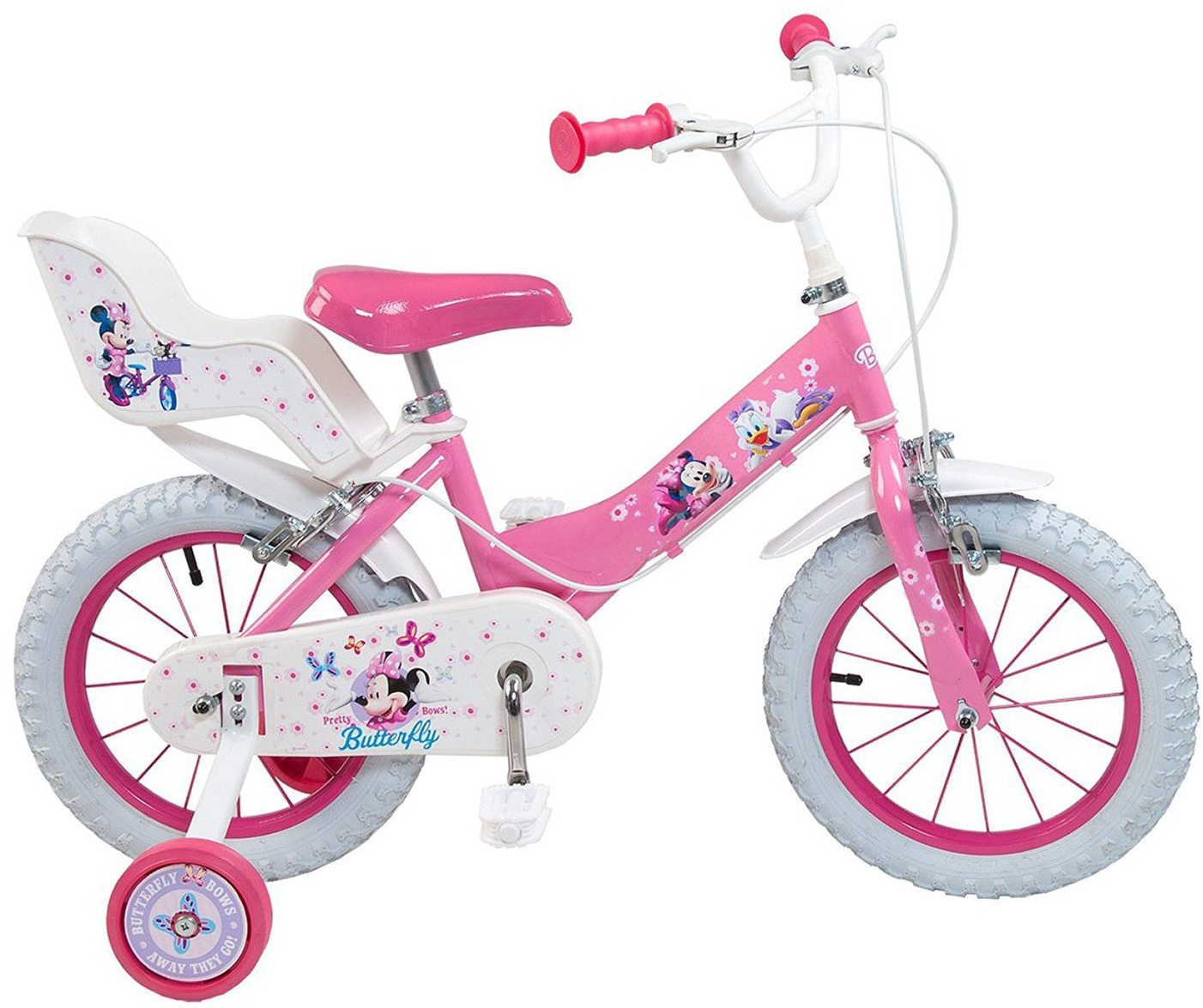 Bicicleta copii Toimsa Minnie Mouse Club House 14