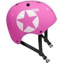 Casca protectie Stamp Pink Star