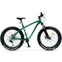Bicicleta City Pegas Fat Bike Suprem Verde