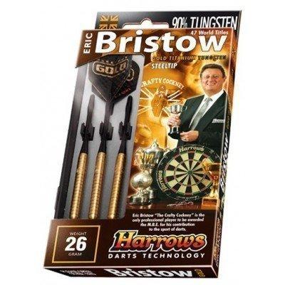 Sageti darts Harrows E. Bristow Gold 90% Tungsten