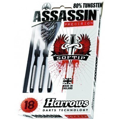 Sageti darts Harrows Assasin 80% Tungsten 2BA