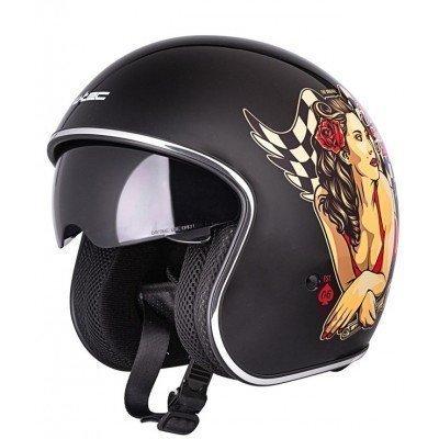 Casca moto W-Tec V537 Black Heart