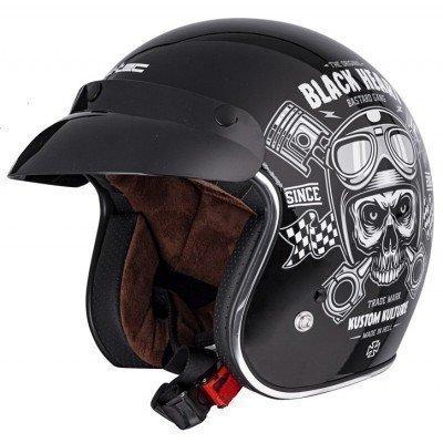 Casca moto W-Tec V541 Black Heart