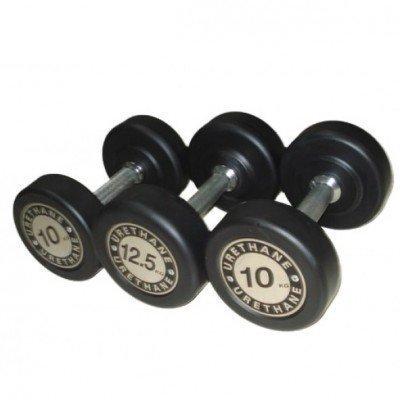 Gantera rotunda poliuretan Dayu Fitness 37.5 Kg