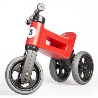 Bicicleta fara pedale Teddies Funny Wheels 2v1