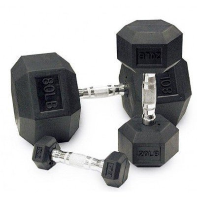 Gantera hexagonala Dayu Fitness 20 Kg