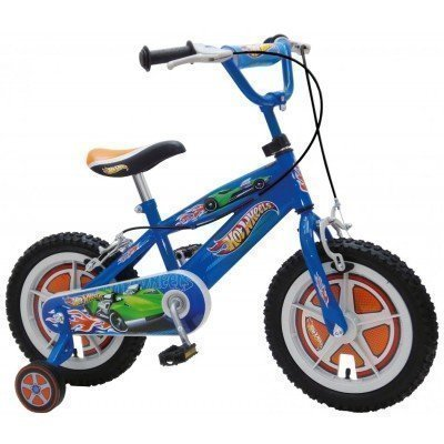 "Bicicleta copii Stamp Hot Wheels 14"""