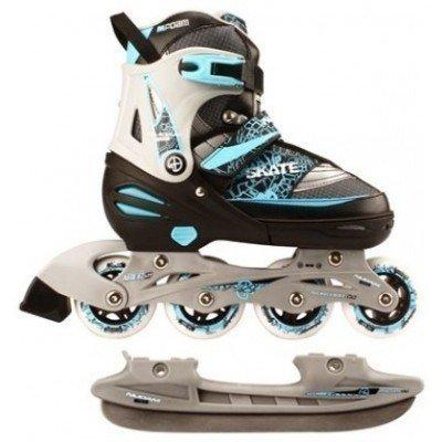 Role 2in1 Nijdam Inline Skate Combo