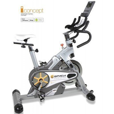 Bicicleta Indoor Cycling BH Fitness i.Spada Racing Dual
