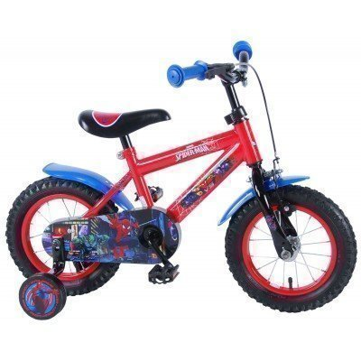 Bicicleta copii E&L Cycles Spiderman 12''