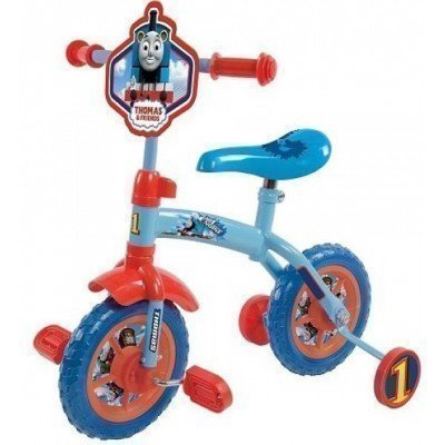 Bicicleta cu/fara pedale 2in1 MVS Thomas and Friends 10""