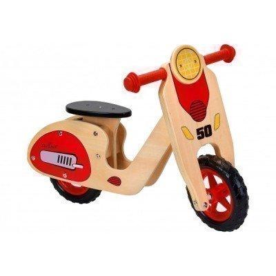 Bicicleta fara pedale Globo Legnoland Retro Scooter