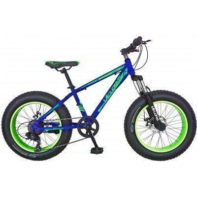 "Bicicleta Fat Bike Velors V2019B 20"""