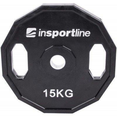 Greutate cauciucata inSPORTline Ruberton 15 Kg