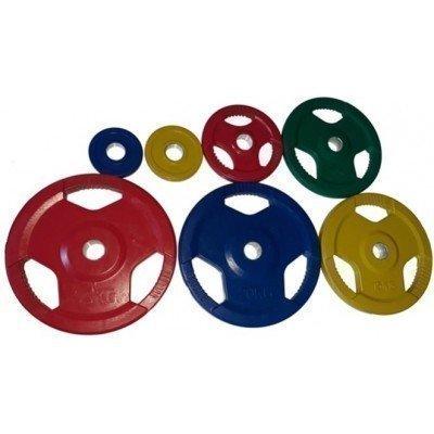 Greutate olimpica colorata Dayu Fitness 1.25 Kg