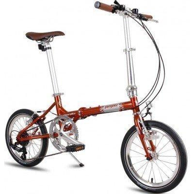 Bicicleta pliabila Pegas Teoretic 7s Orange