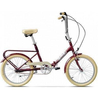 Bicicleta pliabila Pegas Practic 3v Rosu
