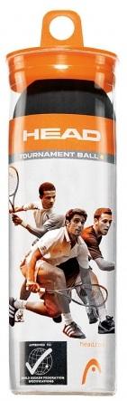 Set mingi squash Head Tournament 3/set