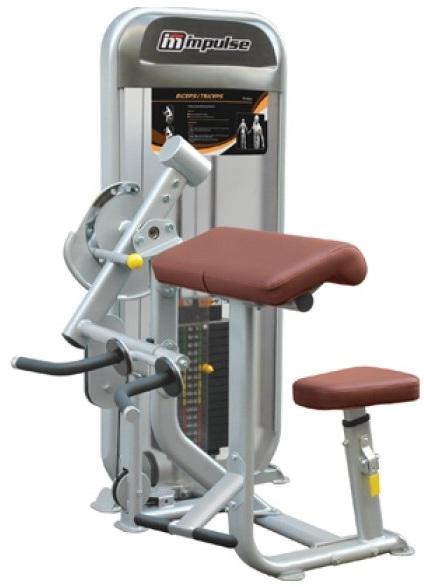 Aparat dual presa biceps si triceps Impulse Fitness PL9023
