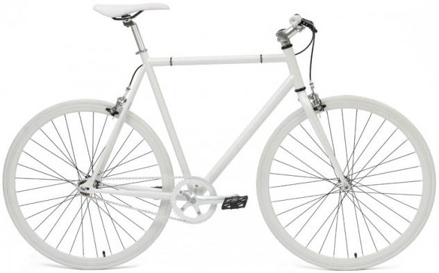 Bicicleta City Deoras Alb