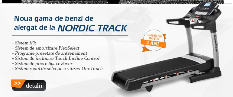 Benzi de alergat Nordic Track