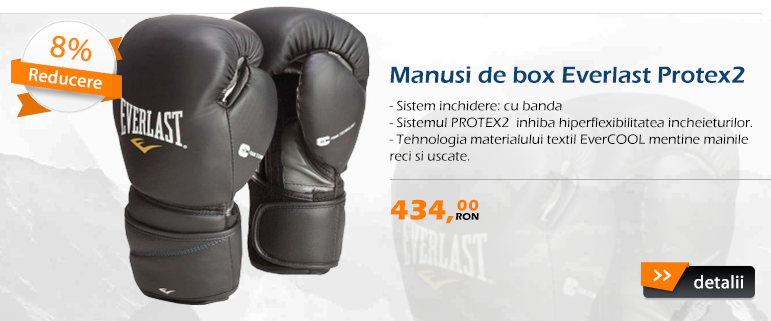 Manusi de box Everlast Protex2